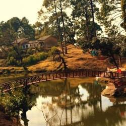 Lake at Lansdowne in Uttarakhand