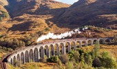 Explore The Most Scenic Train Route in Scotland – The Jacobite ( Hogwarts Express)