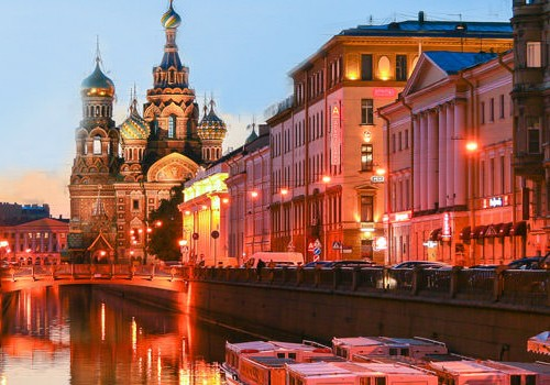 Moscow and St Petersburg Honeymoon Tour Package