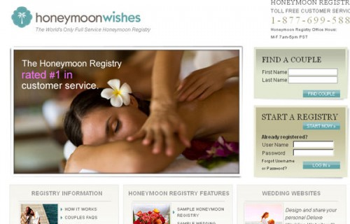 HoneymoonWishes.com