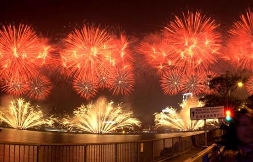 Best New Year Fireworks in World