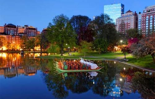 Romantic Places in Boston