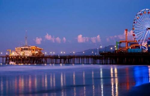 Romantic Places in California