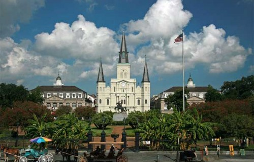 Romantic Places in New Orleans