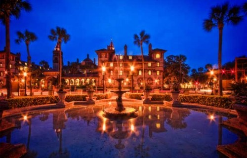Romantic Places in Saint Augustine