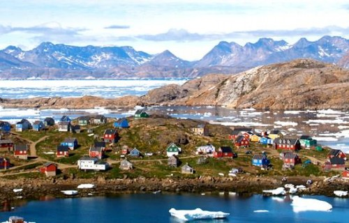Romantic Places in Greenland