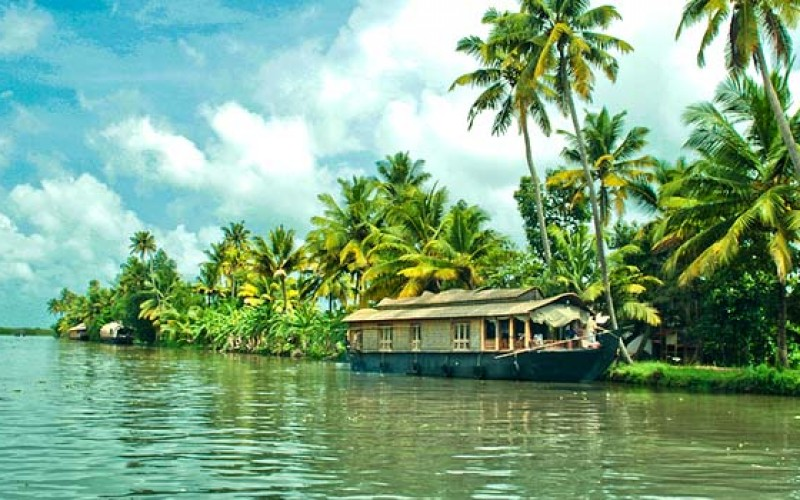 Alleppey Backwaters in Kerala
