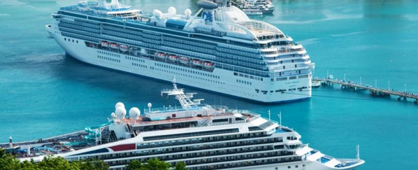 Cruise Ships in Ocho Rios, Jamaica