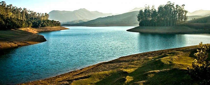 Emerald lake in Ooty