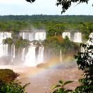 Igazu falls in Brazil