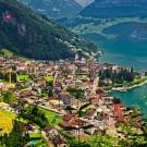 Lake Lucerne in Switzerland