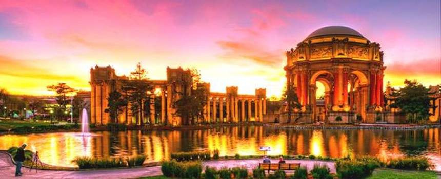 San Francisco Palace in California