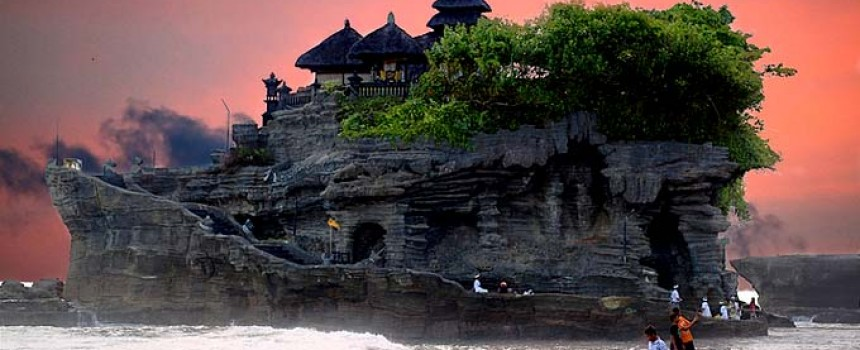 TANAH LOT in Bali Indonesia