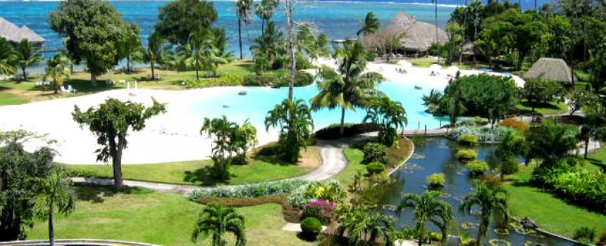 Tahiti Meridien Hotel View