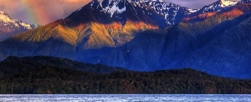 Te anau in New zealand