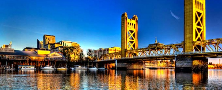 Sacramento River at Tower Bridge