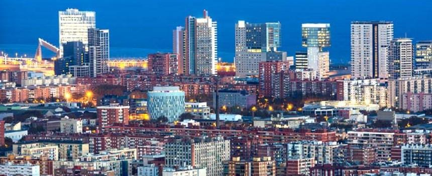 Barcelona skyscrapers