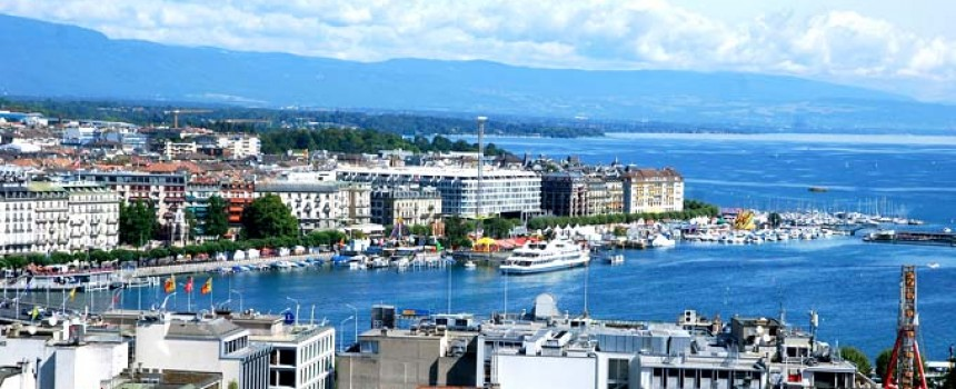 Geneva in Switzerland