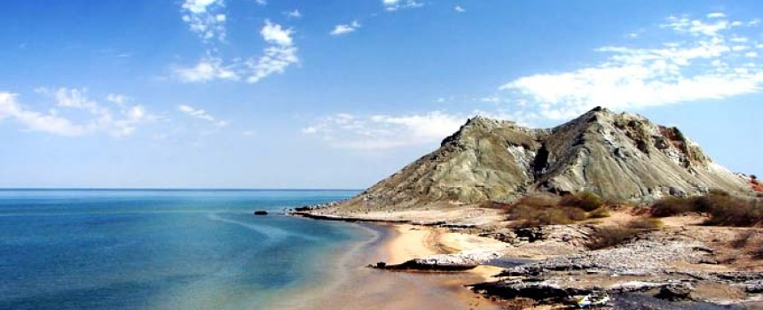 Khezr Beach in Iran