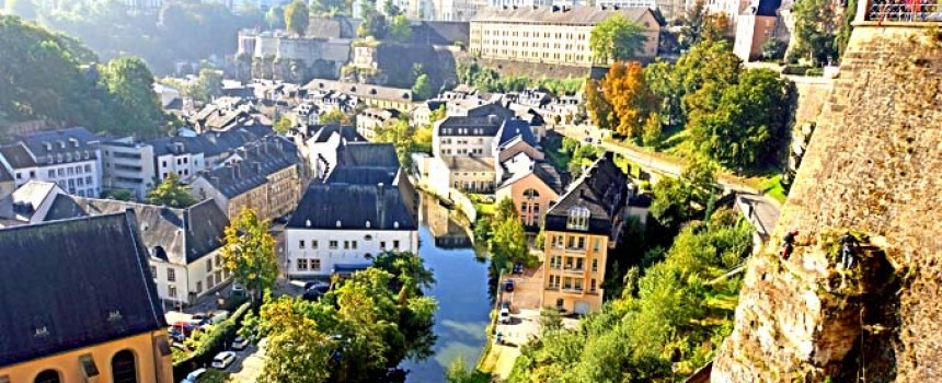 Luxembourg City in Europe