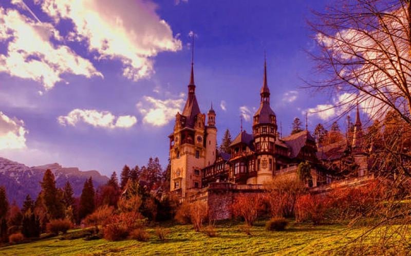 Pele Castle, Romanian