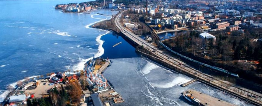 Tampere City in Finland