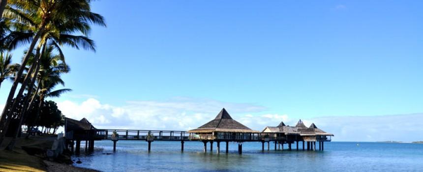 Anse Vata Bay in New Caledonia