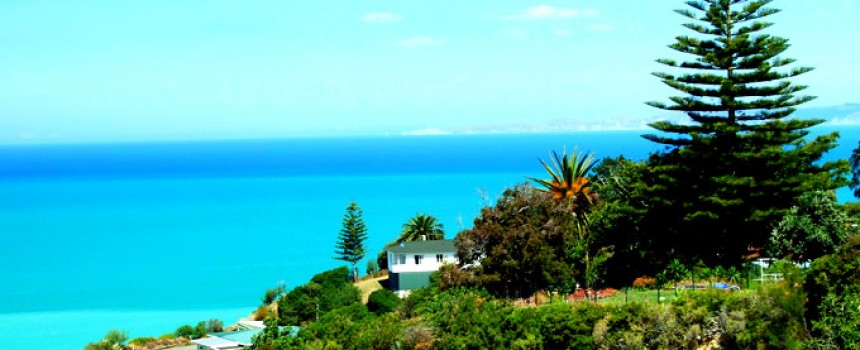 Bluff Hill lookout in Napier