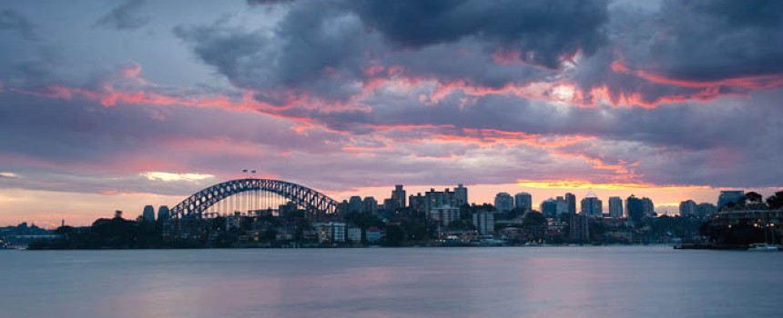 Sunset from Cremorne Point