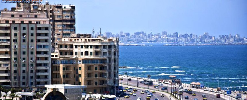 Alexandria City in Egypt
