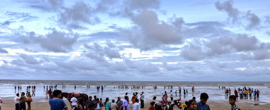 Beach in Digha, West Bengal