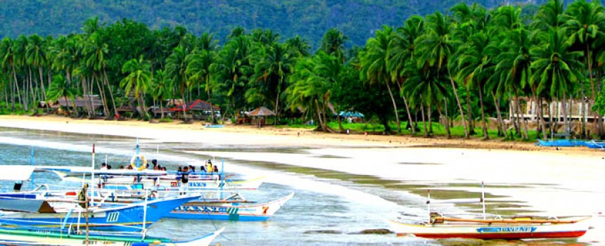 Palawan in Philippines