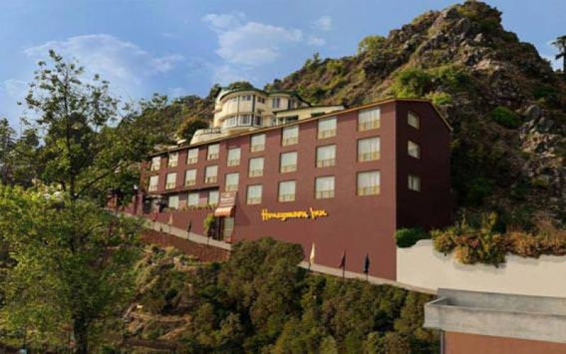 Outer View of Honeymoon Inn Mussorie