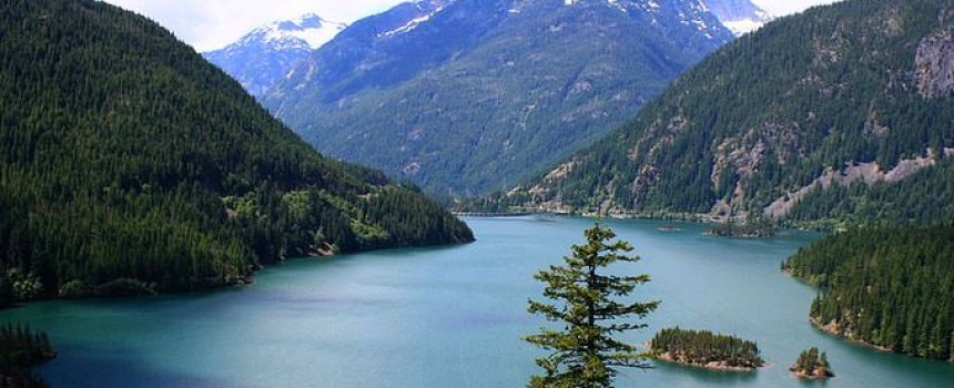 Diablo Lake in Bellingham