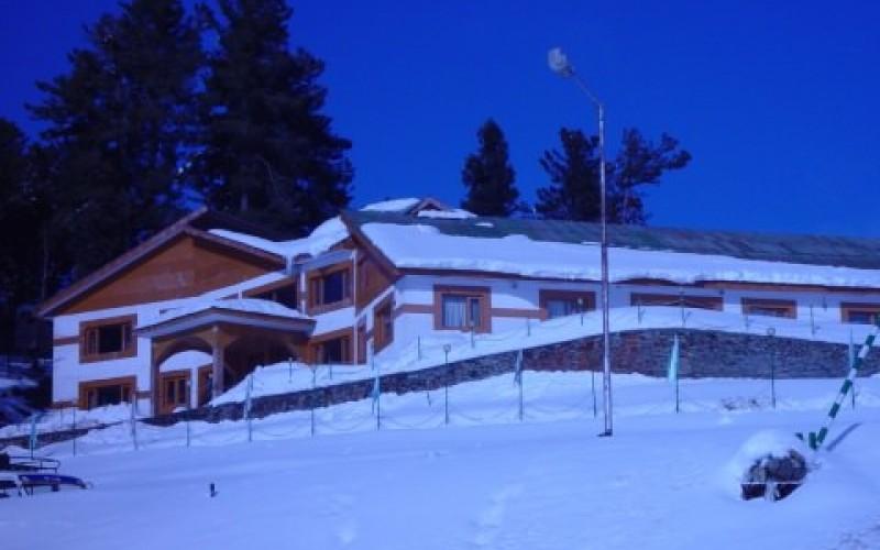 Royal Park Hotel during Snowfall