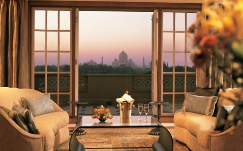 Taj Mahal View From Room