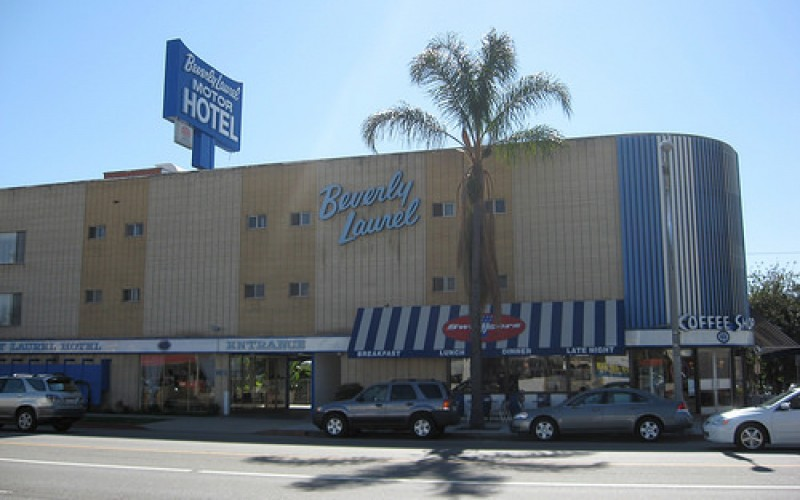 beverly laurel motor hotel los angeles romantic honeymoon