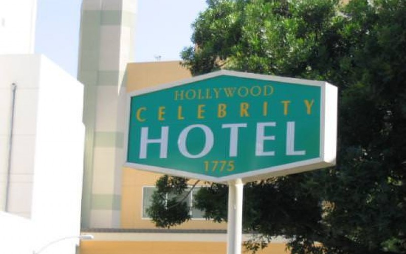 Hollywood Celebrity Hotel Entrance