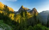 Glacier-National-Park-Sunset