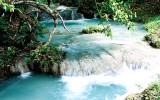 Mele Cascades waterfall