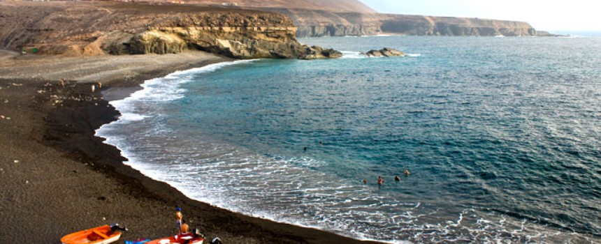 Ajuy beach in Fuerteventura