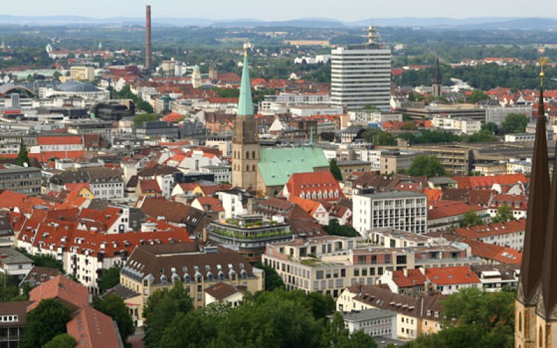 Bielefeld City, Germany