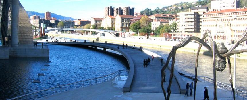 Bilbao sightseeing in Spain