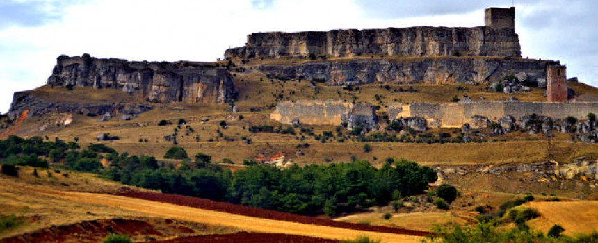 El castillo de Atienza in Guadalajara