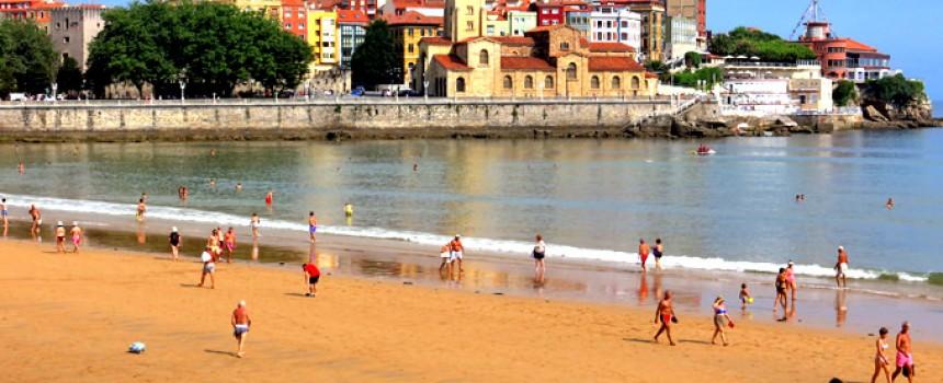 Gijón una estampa