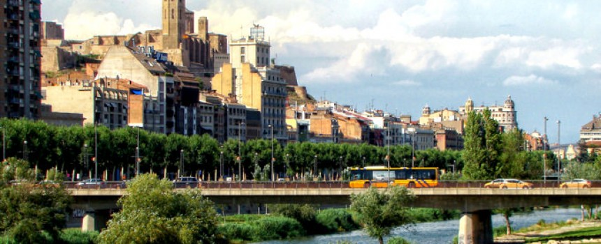 Lleida in Spain