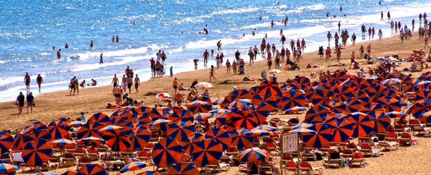 Playa del Ingles in Spain