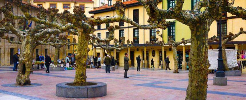 Plaza Daoíz y Velarde in Oviedo