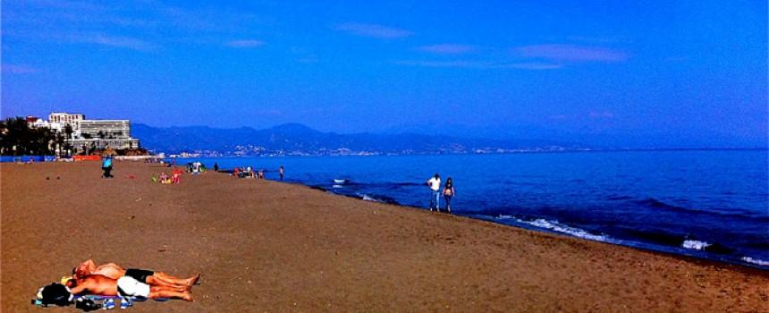 Torremolinos Beach in Spain