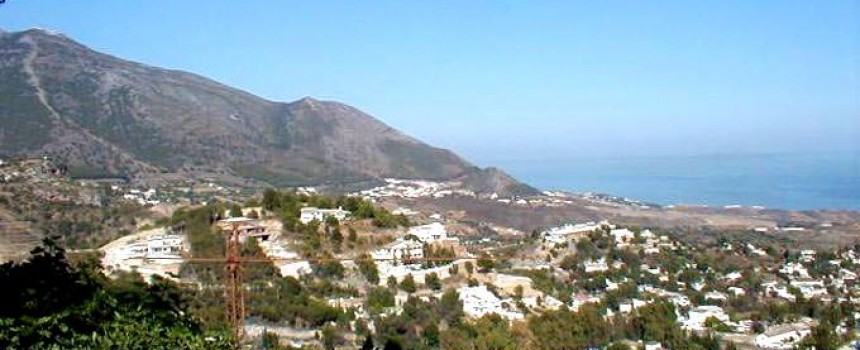 View from Mijas